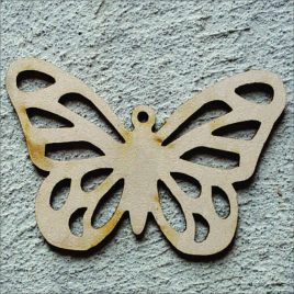 Detailed Butterfly Cut-out