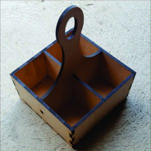 MDF Condiment caddy