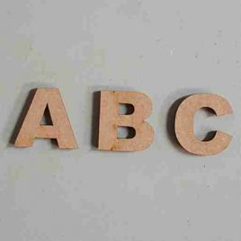 MDF Letter Cutouts (Arial) 3cm