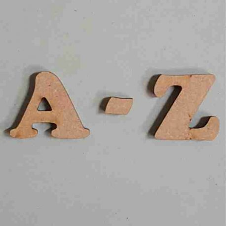 Letters Cooper A-Z MDF