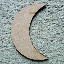 Quarter Moon Cut-out
