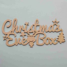 Christmas Eve Box Sign