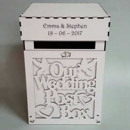 Wedd box white
