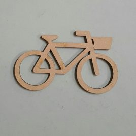 Bicycle cut-out raw
