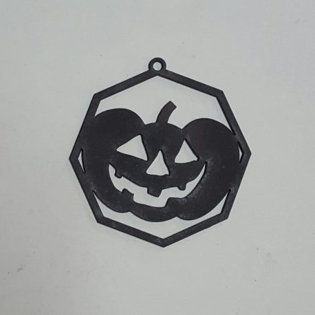 Pumpkin Decoration in black