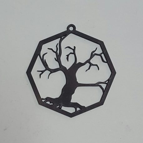 Tree Decoration in black