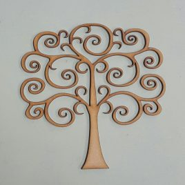 Tree with Curled Branches