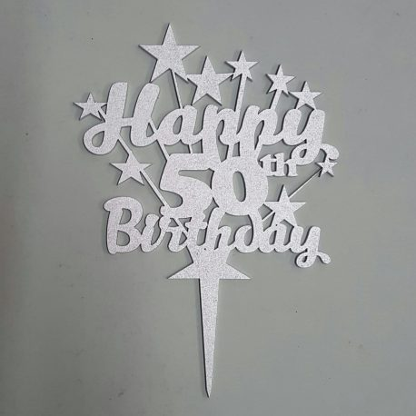 Birthday – Personalized and with star burst