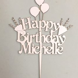 Birthday - Personalized with balloons
