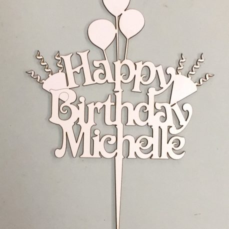 Birthday – Personalized with balloons