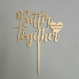 Wedding – Better together – Personalised
