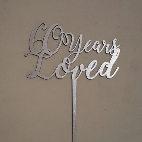 60 Years Loved 1