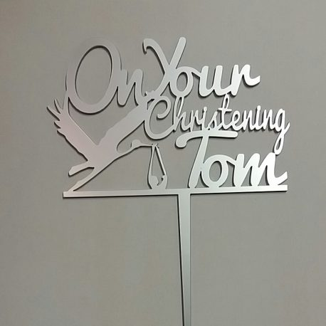 On your christening & name