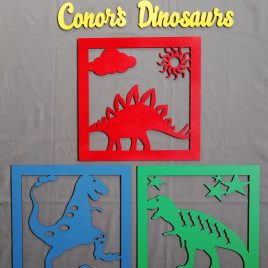 Wall art – Dinosaurs
