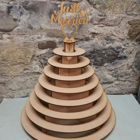 8 Tier Just Married