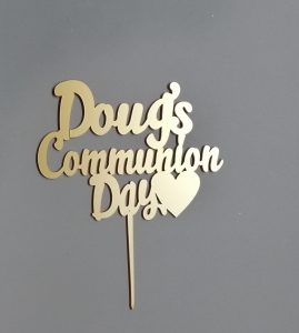 Cake Topper - 1st Holy COmmunion
