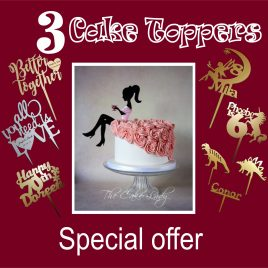 THREE Cake toppers 006